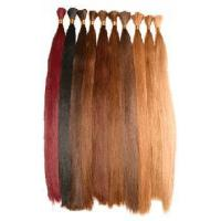 Buy cheap Natural Hair,Human hair,Silky Straight Bulk, product