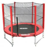 Buy cheap 8FT Trampoline 8FT Trampoline with outside Net&Long Pole from wholesalers