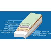 Buy cheap Aluminum Composite Panel Fire Resistance Aluminum Composite Panel from wholesalers