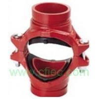 Buy cheap Fire fighting grooved fittings  Cross, Mechanical Grooved product