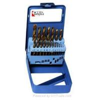 Buy cheap 19pcs twist drill set from wholesalers