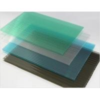 Buy cheap Polycarbonate PC Hollow Sun Sheet(Twins-wall) from wholesalers