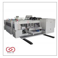 LX-607C/608C Full computerized high speed flexo print slotter & die cutter(Vacuum Suction Conveyer for printer)