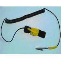 Buy cheap single coiled cord ESD wrist strap Products:WS-205-0408 from wholesalers