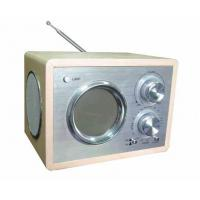 Buy cheap TA-718 Description:AM/FM 2 BAND WOODEN RADIO WITH CALENDAR,CLOCK AND TEMPERATURE DISPLAY AC ONLY WITH MP3 CONNECTION(OPTIONAL) from wholesalers