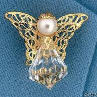 Buy cheap jewelry(SBC)(31) Product NameAcrylic Crystal Angel Pins. from wholesalers