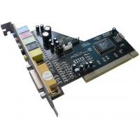 Buy cheap Add on Card Mode Number:CMI 8738 6 Channel PCI Sound CardProduct 5.1 CMI 8738 6 Channel PCI Sound CardNewest 6-channel PCI sound card (CMI8738-6CH) from C-Media Technology; HRTF-based CRL 3D extension positional audio, API compatible with Microsoft from wholesalers