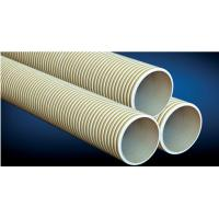 Buy cheap hard PVC double wall wave pipe from wholesalers