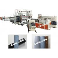 Buy cheap Plasitic plate/sheet line Wide PVC flooring leather, waterproofing membrane production line from wholesalers