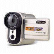 Buy cheap Digital video cameras  Digital Video, DSC, and PC Camera, Supports SD Memory Card, with 1.3-megapixels CMOS Sensor from wholesalers