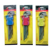 Buy cheap HEX KEY SET PT-44 9PC HEX KEY WRENCH (EXTRA LONG SIZE,HEX END) from wholesalers