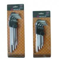 Buy cheap HEX KEY SET PT-A01 9pc hex key wrench set from wholesalers