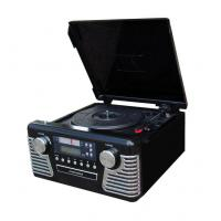 Buy cheap RETRO MUSIC CENTER Retro Music Center with Turntable, CD Recorder, AM/FM Analog Radio, RCA line-in, RCA line-out, Remote control, Swivel Telescopic Antenna. Model:E-606R from wholesalers