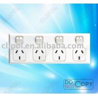 Buy cheap W.P Switch-56SW series wall switch,light switch,4 gang power point switch,GPO4 switch from wholesalers