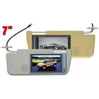 Buy cheap SUNVISOR MONITOR 7 inch Sun Visor Monitor from wholesalers