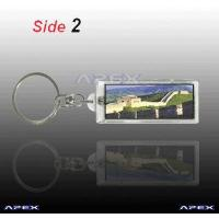 Buy cheap Solar Keychain AK023 (two sides blinking) from wholesalers