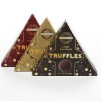 Buy cheap Cash & Carry Product Locator It's All About Chocolate Truffles Triangle Box 3 Color Asst. 24/1oz product