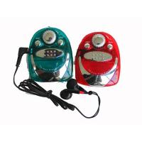 Buy cheap FM radio with earphone FM mini Radio from wholesalers