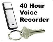 Buy cheap Audio equipments JT913 USB Keychain 40 Hour Voice Memo Recorder & 2GB Flash Drive from wholesalers