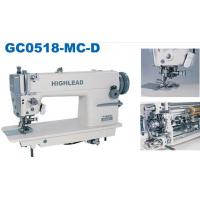 Buy cheap HIGHLEAD High speed needle bar feed lockstitcher with edge cutter GC0518-MC from wholesalers