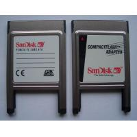 Buy cheap SM PCMCIA CF Adapter Card Reader PCMCIA CF Adapter Card Reader product