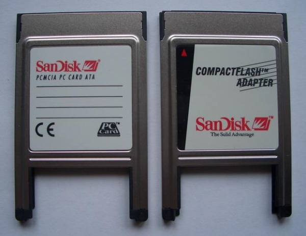 Quality SM PCMCIA CF Adapter Card Reader PCMCIA CF Adapter Card Reader for sale