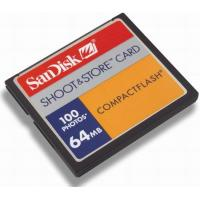 Buy cheap Compact Flash Card 64MB CompactFlah cf card SanDisk 64MB CompactFlah cf card SanDisk product