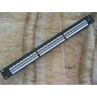Buy cheap Patch Panel  Cat5e Modularization Patch Panel 24Port from wholesalers