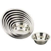 Buy cheap Stainless Steel Soup Bowl with extra length edge. product