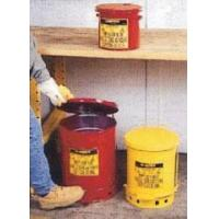 Waste Treatment Red oily waste cans