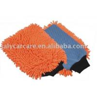 Buy cheap 2 in 1 Microfiber Chenille Wash Mitt from wholesalers