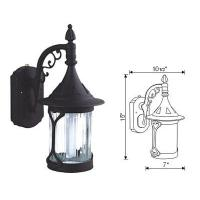 Buy cheap Outdoor Lights-Die-Cast Aluminum Wall Lantern from Wholesalers