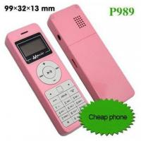 Buy cheap Music mobile phone,small cell phone,dual sim cards dual standby mobile phone-P989 product