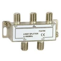 China Cable Connectors VHF/UHF/FM 4-Way Aerial Splitter on sale