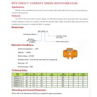 Buy cheap MVE Direct Current Series MVE Direct Current Series from wholesalers