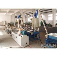 Parallel twin screw pelltizing machine