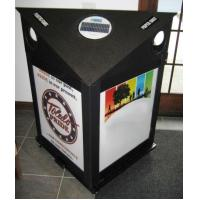 Buy cheap KYSC-100118 Solar green recycling bin from wholesalers