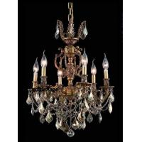 Buy cheap Golden teak crystal chandelier French Gold finish 6 Lights - ornate brass from wholesalers