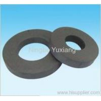 Buy cheap Ferrite Magnets ring sintered hard ferrite magnet from wholesalers