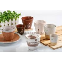 Buy cheap ceramic hand painting flower pot from wholesalers