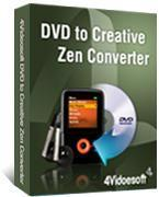 Buy cheap 4Videosoft DVD to Creative Zen Converter 3.2.10 from wholesalers