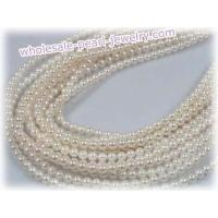 Buy cheap wholesale 5-5.5mm saltwater akoya pearl strands from wholesalers