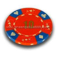 Buy cheap Tri Color Ace King Suited Poker Chips (C-3008) from wholesalers