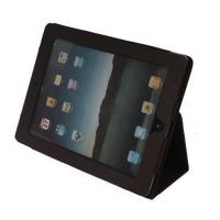 Buy cheap iPad 2 Classic Book Style Reversal Folding Stand Folio Case Brown with Metal Mesh Cut Out for Speake from wholesalers