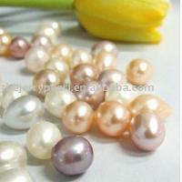 Buy cheap Multi-color natural voal pearl with top quality--Freshwater Loose Pearl from wholesalers