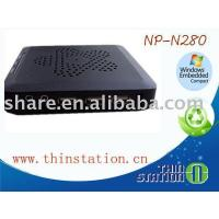 Buy cheap RDP thin client touch screen NP-N280 support the touch screen N280 from wholesalers