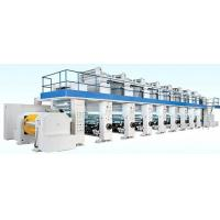 High speed Rotogravure printing press for flexible package