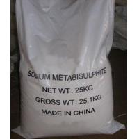 Buy cheap Sodium Metabisulphite from wholesalers