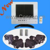 Buy cheap 3) Quad Monitor/LCD Quad DVR Monitor Combo [8] from wholesalers