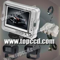 Buy cheap DC11~32V wide voltage 7inches vehicle rear view monitor system with CCD Camera product
